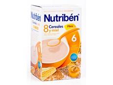 NUTRIBEN 8 CEREALES MIEL FIBRA 600GR