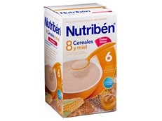NUTRIBEN 8 CEREALES MIEL FRUTOS 600GR