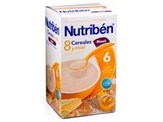 NUTRIBEN 8 CEREALES MIEL MUESLI 600GR