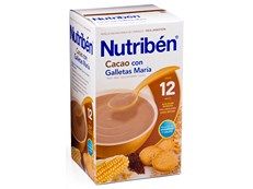 NUTRIBEN CACAO GALLETAS MARIA 500GR