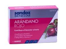 ARÁNDANO ROJO CRANBERRY SANDOZ 30 CÁPSULAS
