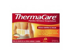 THERMACARE PARCHES TÉRMICOS LUMBAR 4 UNIDADES