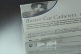 Sonda Buster 1,0mm.Con Fiador Sonda Uretral Gato