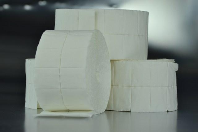 Compresa pre-cortada de celulosa 4 cm. x 5 cm.
