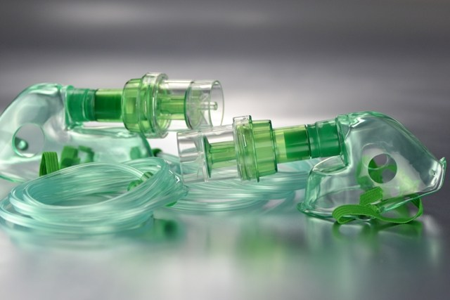 Mascarilla Oxigeno con Nebulizador