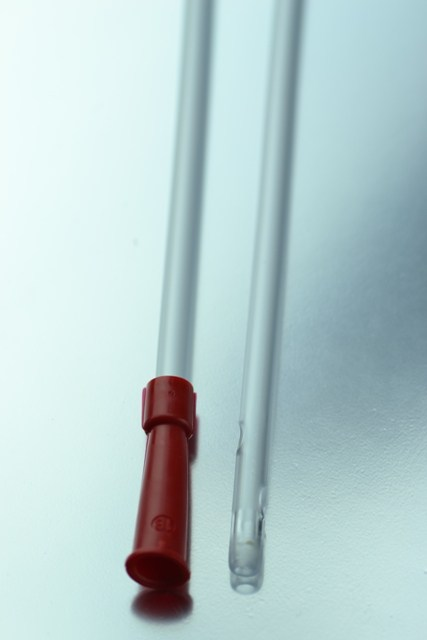 Sonda Aspiración CH-18 (Rojo) 50 cm.
