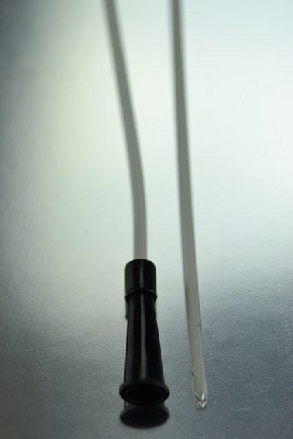 Sonda Nélaton CH-10 Ø 3,3 mm. 40 cm. (Negro)