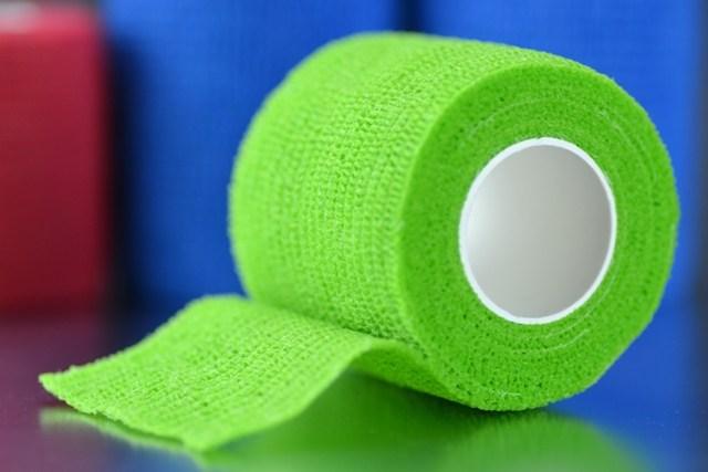 Venda 4,5 m. x 5 cm. cohesiva elástica Shali-flex (Verde)