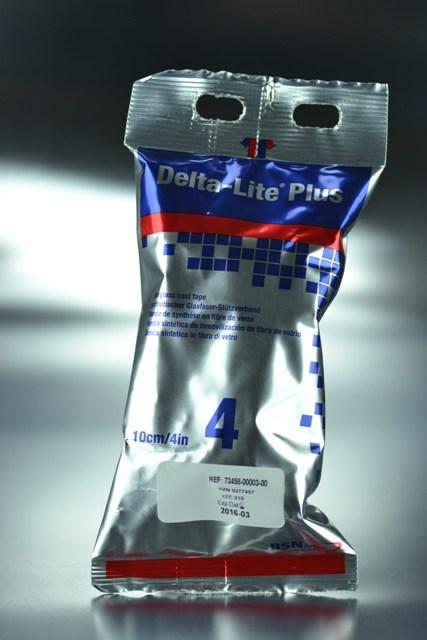 Venda 3,6 m. x 10 cm. fibra vidrio Deltalite-Plus