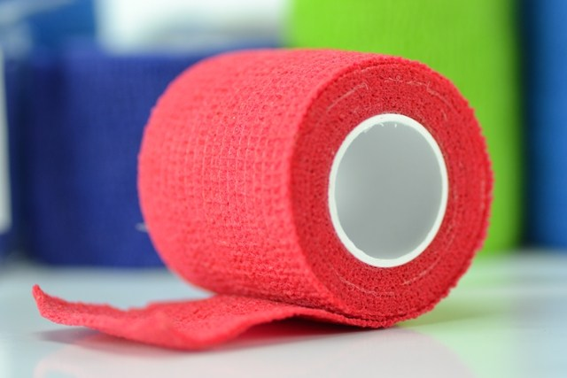 Venda 4,5 m. x 5 cm. cohesiva elástica Shali-flex (Rojo)
