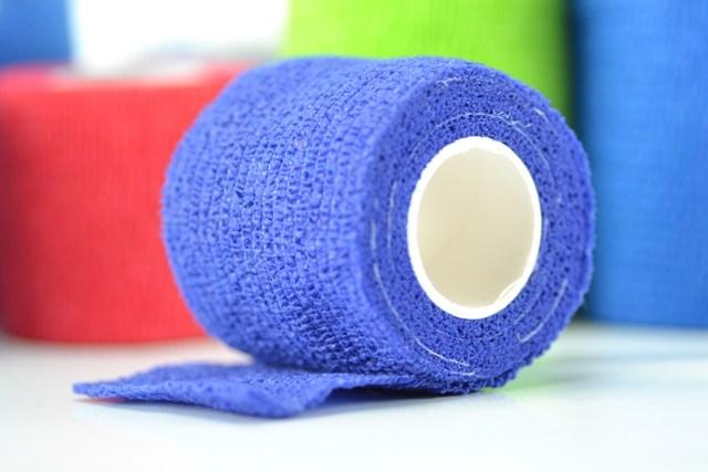 Venda 4,5 m. x 5 cm. cohesiva elástica Shali-flex (Azul)