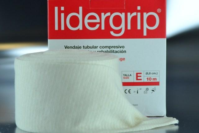 Venda tubular E compresiva Lidergrip (8,8cm. x 10m.)