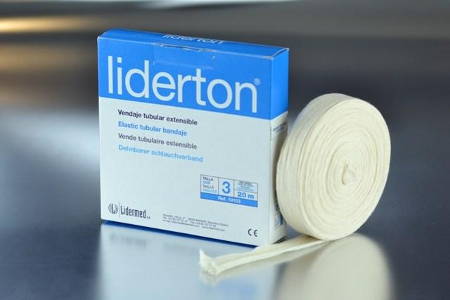 Venda tubular elástica nº 3 Liderton (2,8cm.x 20m.)