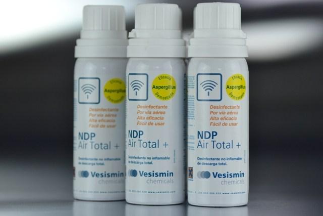 Desinfectante terminal AirTotal+ 50ml.(40m3)