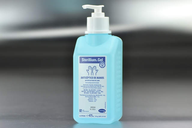 Desinfectante Gel Sterillium 500 ml. quirúrgico de manos