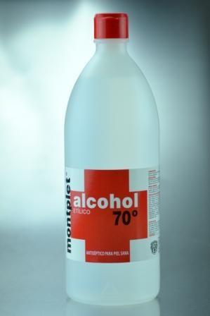 Alcohol 70º 1 Litro. reforzado