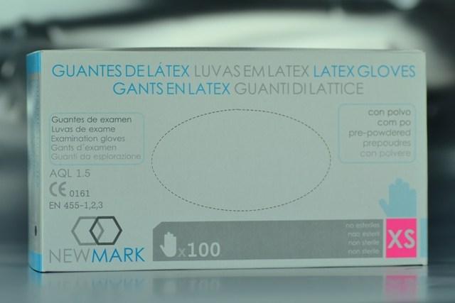 Guante de Examen Látex Talla-Extra P