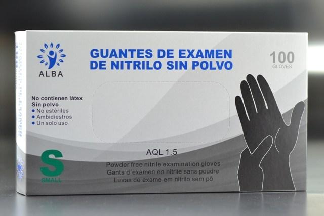 Guante de Nitrilo Talla-P.