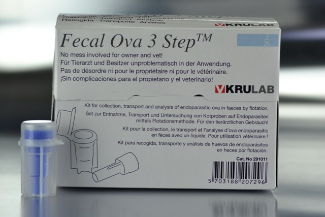 Fecal Ova 3 Step KRUUSE