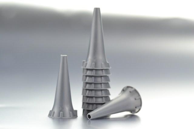 Espéculo Otoscopio 2,5 mm. HeineK-180 (C.250 unid.)
