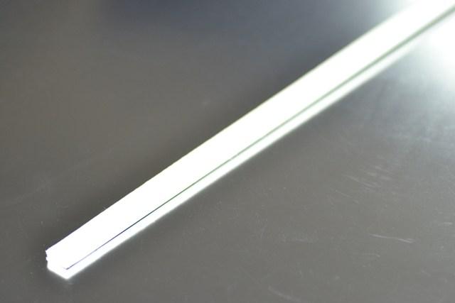 Férula 50 cm. x 1,5 cm. de Aluminio