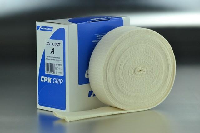 Venda tubular A compresiva CPK Grip (4,5cm. x 10m.)