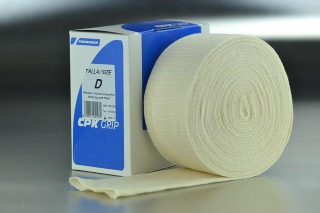 Venda tubular D compresiva CPK Grip (7,5cm. x 10m.)