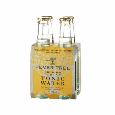 Fever-Tree Tonic Water. Premium Indian (Pack 4 Botellas)