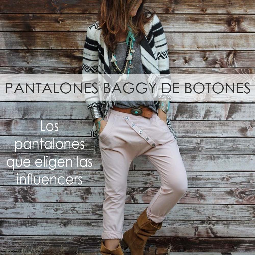 Los baggy que eligen las influencers