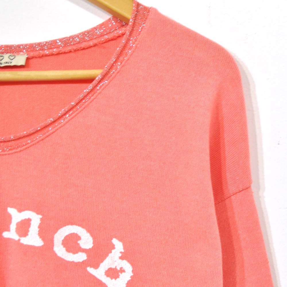 Camiseta French coral