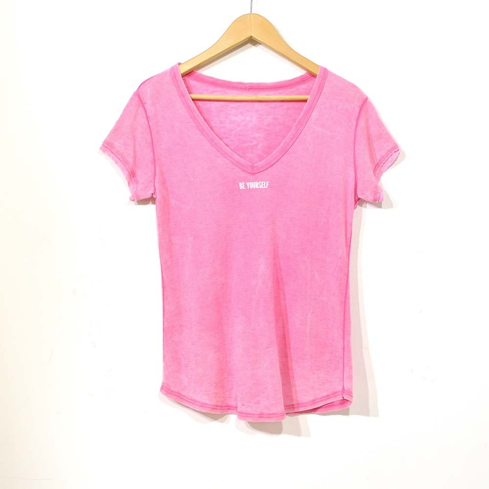 Camiseta yourself fucsia