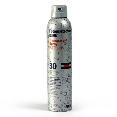 Protector Solar Isdin Spray Wet Skin SPF30+