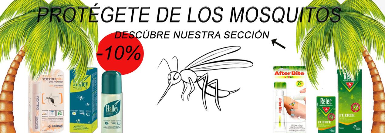 Productos para la prevención y tratamiento de los mosquitos