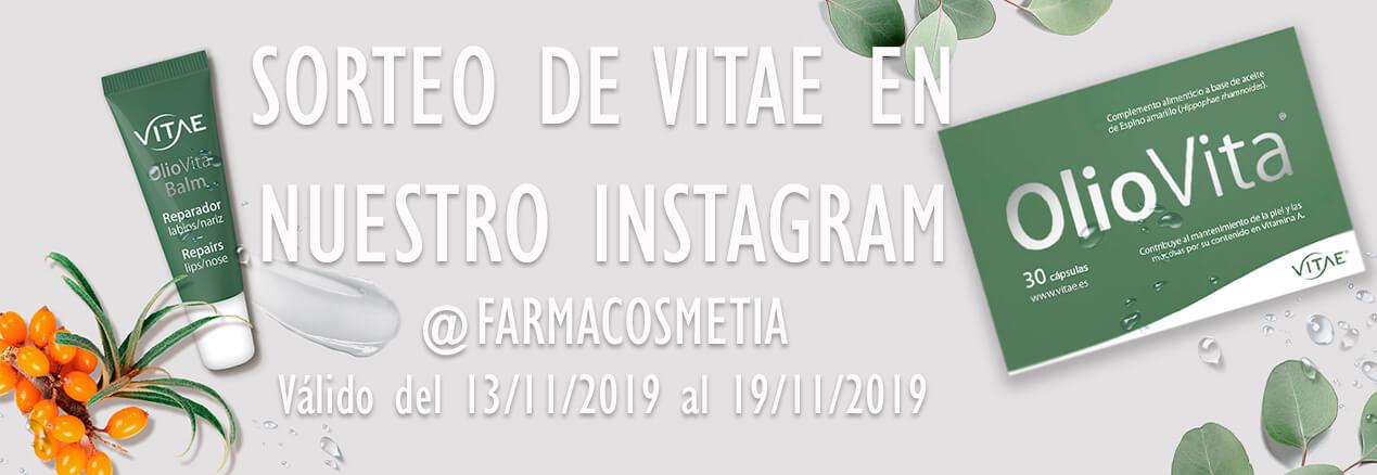 Sorteo Vitae Instagram