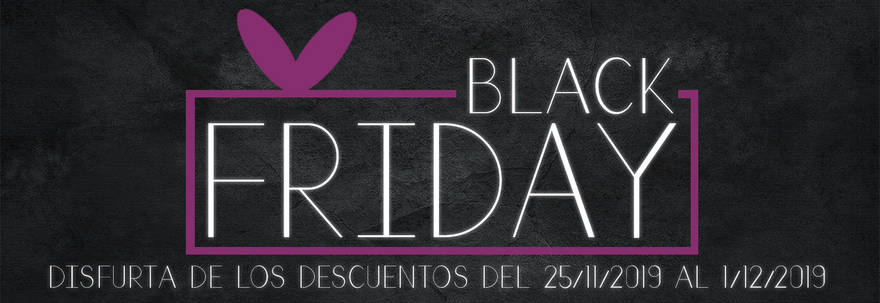 Disfruta de los descuentos del Black Friday del 25/11/2019 al 1/12/2019