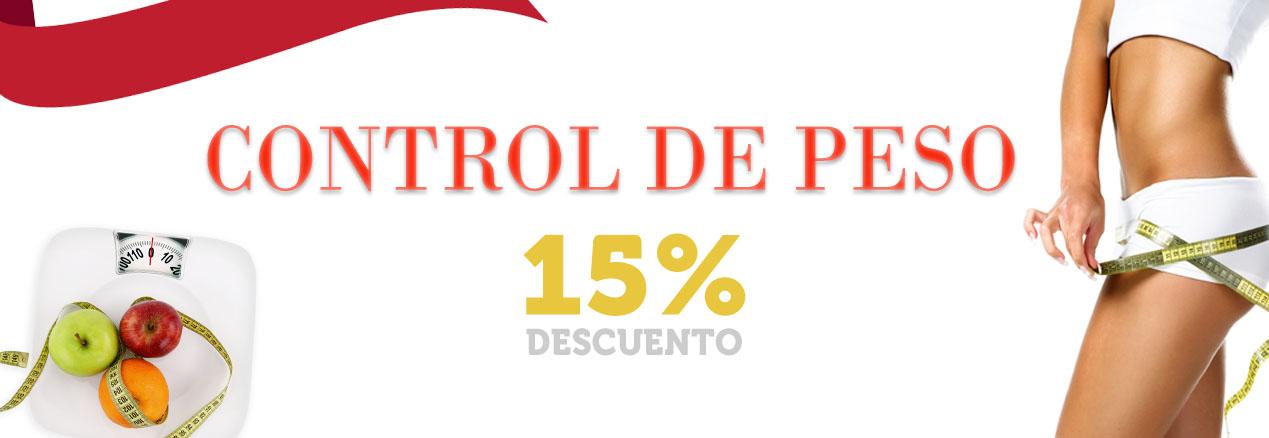 Control de peso -15%