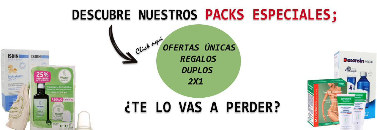 Packs Productos Farmacia