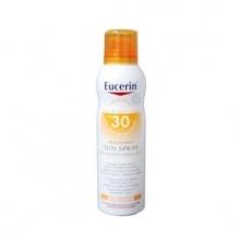 Eucerin Sun Spray Transparent Toque Seco Spf30 200ml