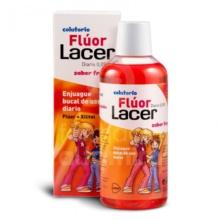 Lacer Fluor Colutorio Sabor Fresa 500ml