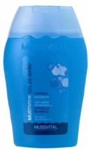 MUSSVITAL GEL DE BAÑO TERMAL EXFOLIANTE 200ML.