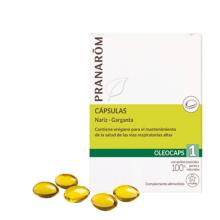 Pranarom Oleocaps 1 Nariz-Garganta 30 cápsulas