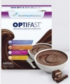 OPTIFAST NATILLAS CHOCOLATE 9 SOBRES 54G.