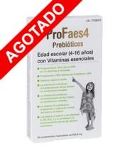 Profaes4 Probioticos Edad Escolar con Vitaminas