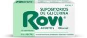 Rovi Supositorios de Glicerina Adultos 12unidades