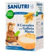 Sanutri 8 Cereales con Galleta María