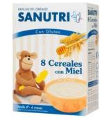 Sanutri 8 Cereales con Miel
