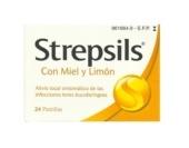 Strepsils Miel y Limón 24 Pastillas