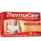 THERMACARE PARCHES TERMICOS ZONA LUMBAR Y CADERA 2U.