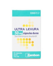 ULTRA LEVURA PROBIOTICO ZAMBON 50MG CAPSULAS DURAS