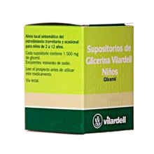 Vilardell supositorios glicerina niños 18 unidades